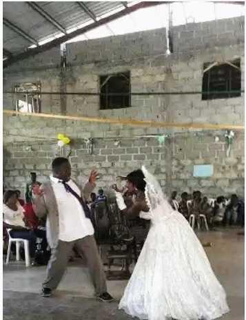 Dionne okafor wedding