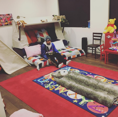 Chris Brown Shares A Photo Of His Daughter 39 S Gorgeous Room